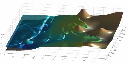 Modélisation d'un Tsunami par résolution des équations de Saint-Venant. (F. De Vuyst)